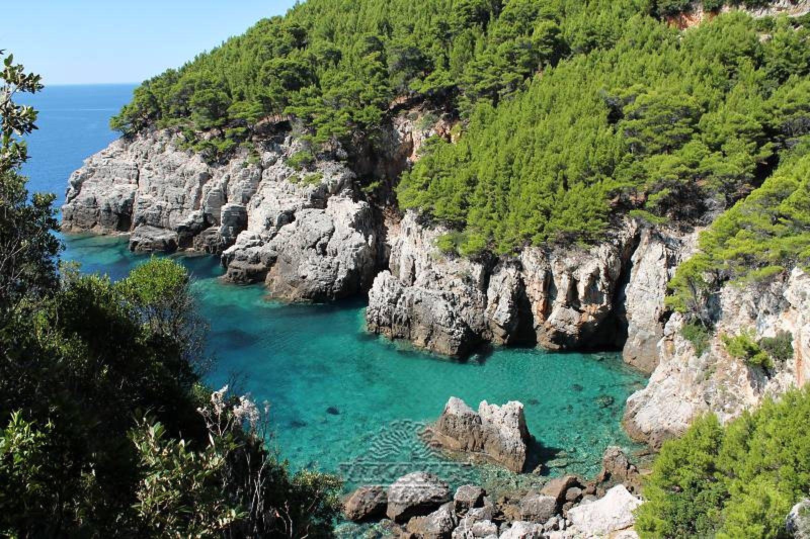 Ostrov Mljet Chorvatsko Cz