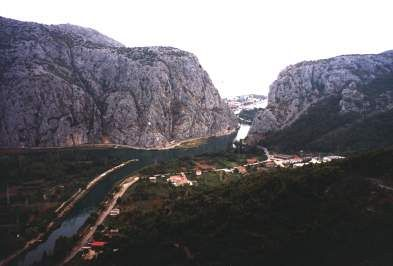 Cetina u Omiše